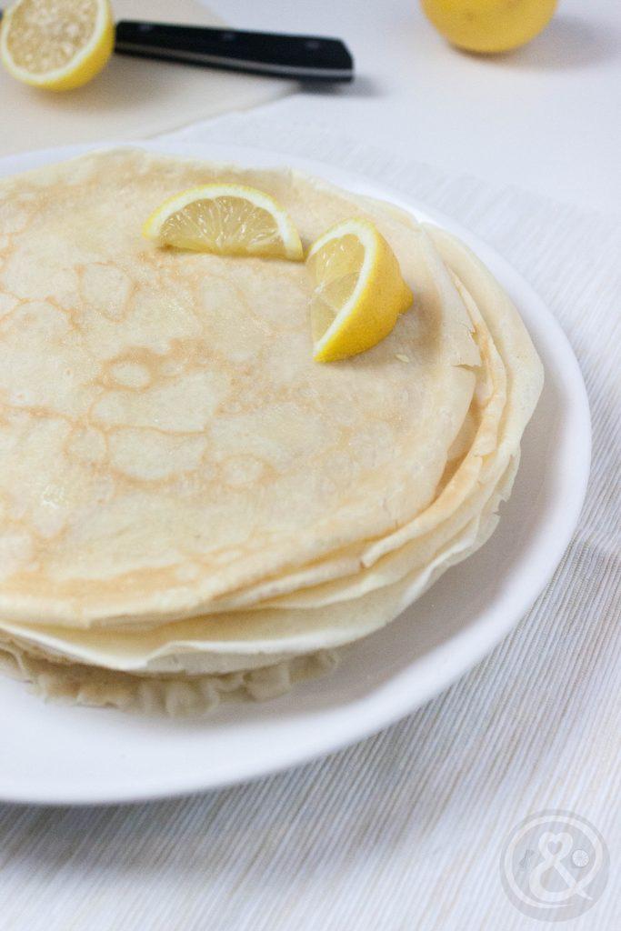 Hier findest du ein Originalrezept für Britische Pancakes.